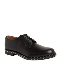 Valentino Stud Sole Formal Shoes Male Black