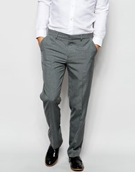 New Look Slim Fit Trousers Grey