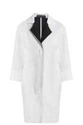 Roland Mouret Paddington Coat White