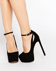 Asos Prestige Platform Shoes Black