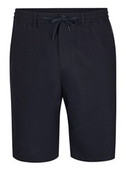 Selected Blue Homme Navy Shorts