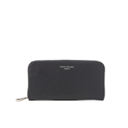 Aspinal Of London Women's Continental Clutch Wallet Black