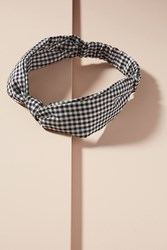 Anthropologie Wide Knot Headband Black