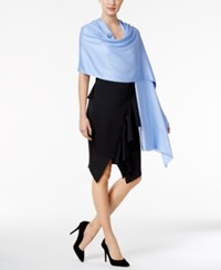 Inc International Concepts Wrap And Scarf In One Only At Macy's Periwinkle