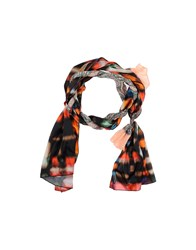 Grey Daniele Alessandrini Accessories Oblong Scarves Women Salmon Pink