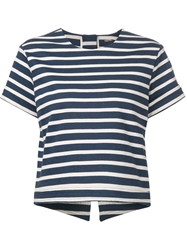 Adam By Adam Lippes Adam Lippes Striped Shirt Blue