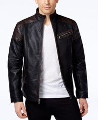 Inc International Concepts Coco Faux Leather Moto Jacket Only At Macy's