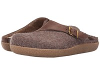 Giesswein Brixlegg Taupe Slippers