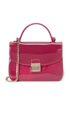 Furla Candy Sugar Mini Cross Body Bag Lampone