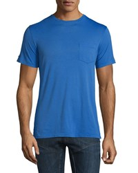 Ralph Lauren Short Sleeve Washed T Shirt Royal No Color