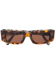 Retrosuperfuture Super Sunnei Ii Sunglasses Brown