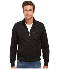 Members Only Iconic Racer Jacket Black Men's Coat