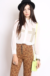 Yayer.Co.Uk Beyond Holy Studded Shirt