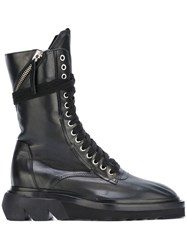Cinzia Araia Lace Up Boots Black