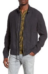 Lucky Brand Men's Linen Harrington Jacket