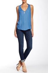 Cj By Cookie Johnson Lift High Rise Denim Legging Blue