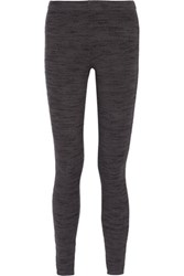 Splendid Ribbed Stretch Jersey Leggings Charcoal