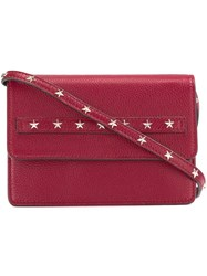 Red Valentino Studded Crossbody Bag Red