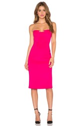 Lumier Night After Night Strapless Dress Pink