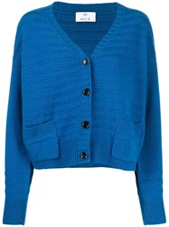 Allude Ribbed Knitted Cardigan 60