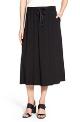 Women's Eileen Fisher Flared Jersey Midi Skirt