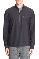 A.P.C. Men's And Outdoor Voices Half Zip Mock Neck Pullover
