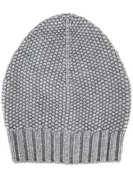 Fabiana Filippi Knit Beanie Grey