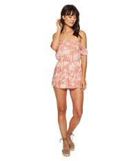 Amuse Society Estella Romper Desert Rose Women's Jumpsuit And Rompers One Piece Pink