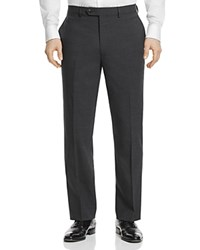 Hart Schaffner Marx Basic New York Classic Fit Trousers Charcoal