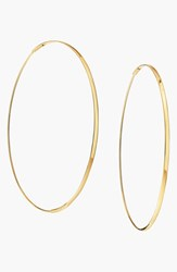 Women's Lana Jewelry 'Large Flat Magic' Hoop Earrings Yellow Gold