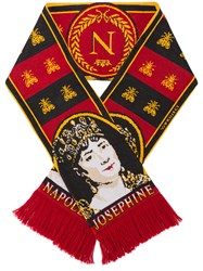 Y Project Napoleon Football Scarf Acrylic Merino Red