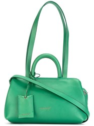 Marsell Double Handle Tote Green