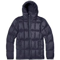 Aspesi Micro Fibre Down Filled Short Parka Navy