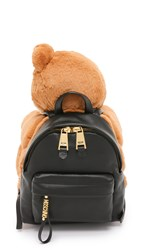 Moschino Bear Backpack Brown