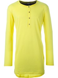 Ann Demeulemeester Button Down Jumper Yellow And Orange