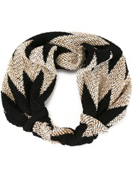 Missoni Abstract Print Headband Black