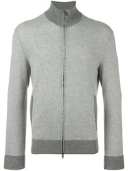 Polo Ralph Lauren Zipped Cardigan Grey