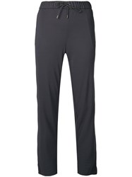 Fabiana Filippi Tapered Trousers Grey