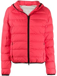 Ecoalf Gajka Puffer Jacket Red