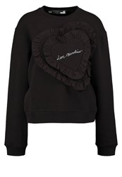 Love Moschino Sweatshirt Nero Black