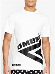 Henry Holland For Umbro Half Diamond Tshirt White