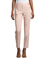 Calvin Klein Straight Leg Dress Pants Blush