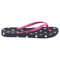 Joules Spot Flip Flops French Navy