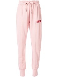 Zoe Karssen Elasticated Waist Trousers Pink