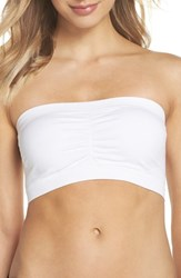 Magic Bodyfashion 'S Bandeau Push Up Bra White