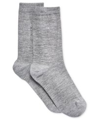 Calvin Klein Women's Sparkle Random Feed Socks Grey Heather