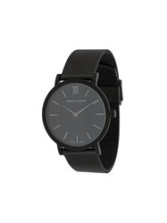 Larsson And Jennings Ljxii Lugano Milanese 40Mm Watch Black