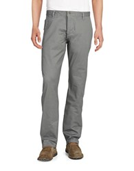 Dockers Alpha Stretch Khaki Slim Tapered Pant Grey