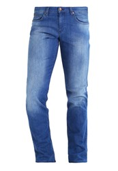 Hugo Boss Green Delaware Straight Leg Jeans Blue
