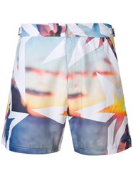 Perfect Moment Essential Resort Print Shorts Multicolour